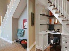 「楼梯下装修设计方案」几款绝佳楼梯下装修方案