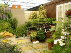 屋顶花园设计图 屋顶花园防水排水怎么做