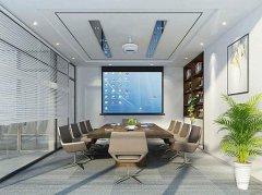 办公室效果图 办公室装修设计平面图