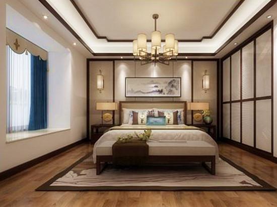 新中式别墅 新中式装修效果图大全2020图片