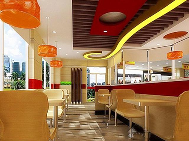 餐饮空间 美式快餐厅装修设计技巧