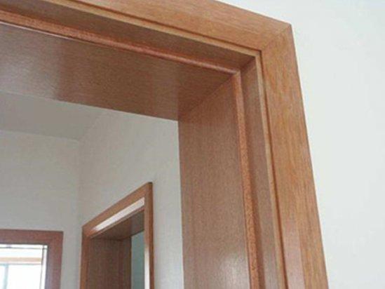实木门安装 实木门套线多少钱一米