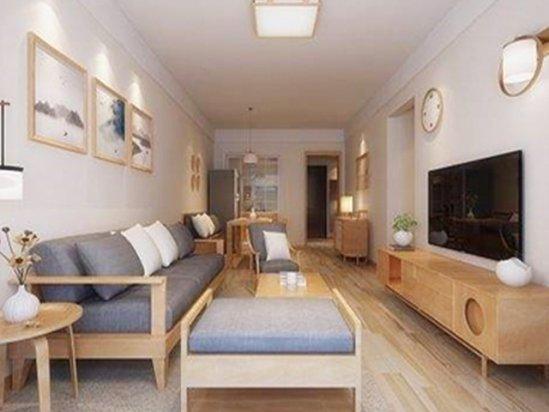 东鹏瓷砖图片 73平米三室两厅装修图