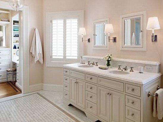 欧式浴室柜 欧式厨房装修效果图小户型