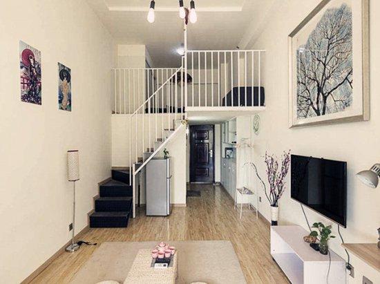装修90平米 40平米loft装修2室一厅