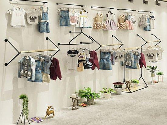 儿童服装店装修 童装店装修效果图片 潮流