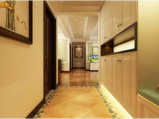 入户门厅装修效果图 80平米小户型装修效果图