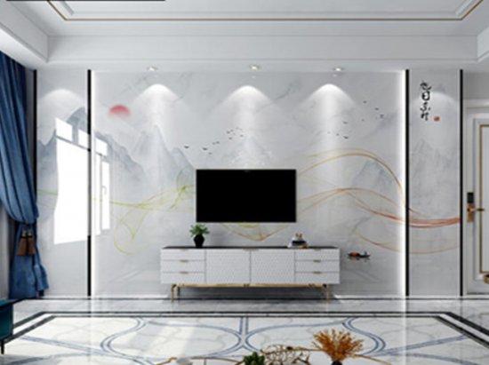 客厅吸顶灯 客厅电视背景墙效果图2020图片