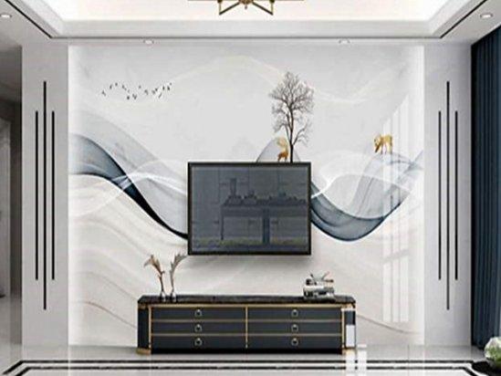 背景墙设计 客厅电视背景墙装修效果图片