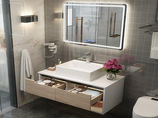 小卫生间效果图 卫生间洗脸盆柜效果图片
