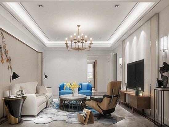 客厅吊灯图片 客厅装修效果图大全2020图片