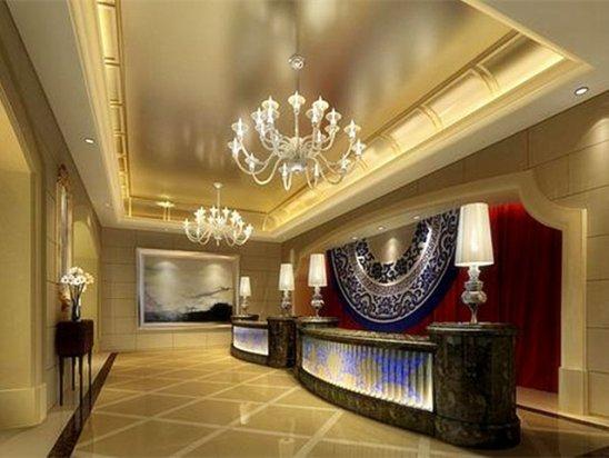 酒店装修设计 2020酒店前台设计效果图欣赏