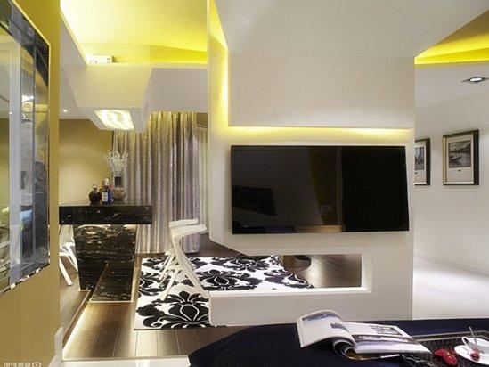 玄关隔断 如何设计客厅中的半透明电视墙