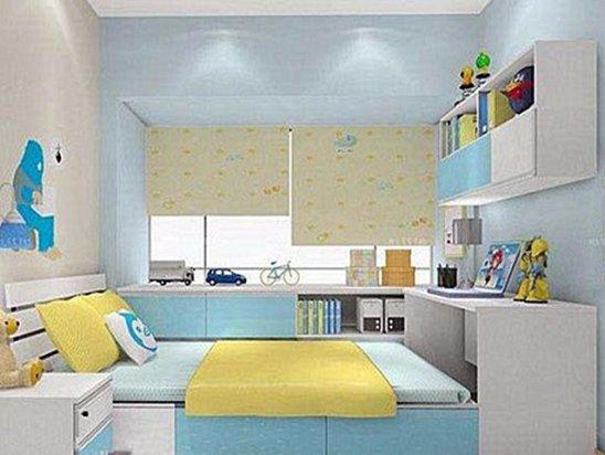 儿童房间设计 儿童榻榻米卧室效果图大全