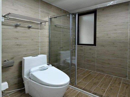 洗手间效果图 1平米超小卫生间装修效果图