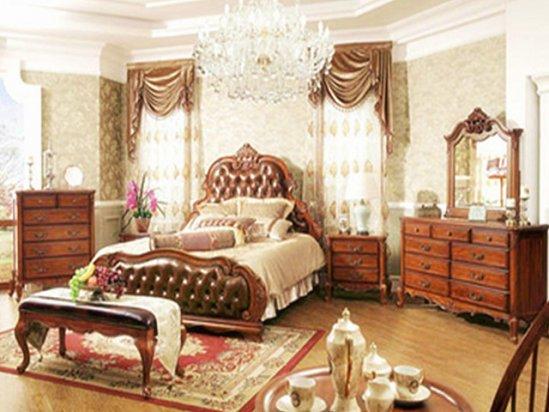 欧式装修 豪华欧式卧室装修效果图大全