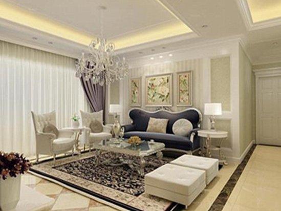 复式小户型 客厅装修实景图大全欧式风格