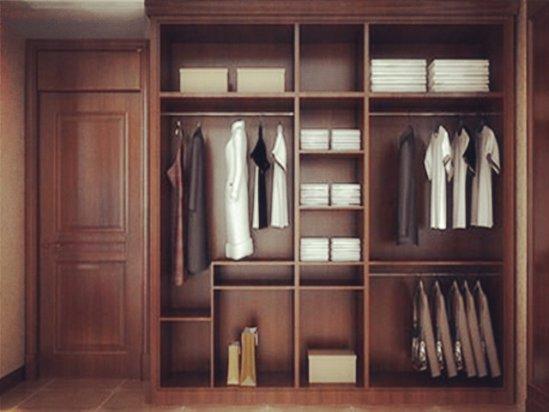 室内设计效果图 最新款衣柜内部效果图大全