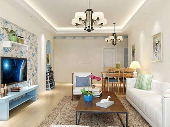 茶室设计图 小户型家装效果图大全2021图片