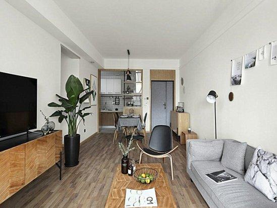 别墅装修实景 小户型极简风格装修效果图片