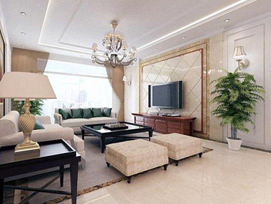 家庭装修设计图片 客厅电视背景墙效果图2021图片