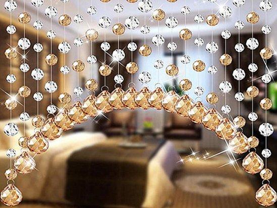 10平米小卧室装修效果图 卧室水晶帘挂法禁忌