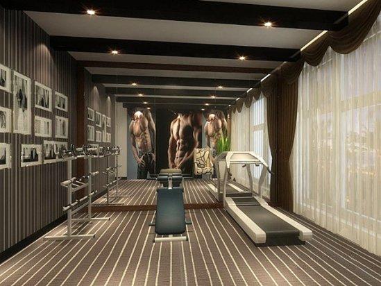 健身房装修 10平米家庭小型健身房装修设计