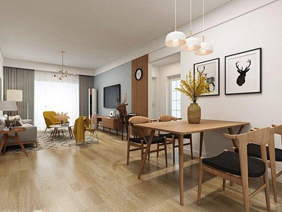 客厅吊顶 北欧风格装修效果图客厅2021图片