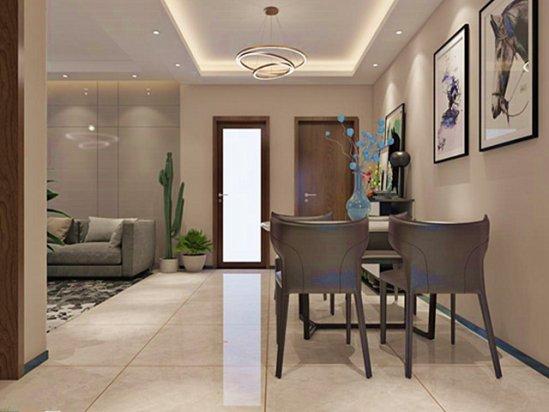 三室一厅家装 103平米三室一厅装修效果图