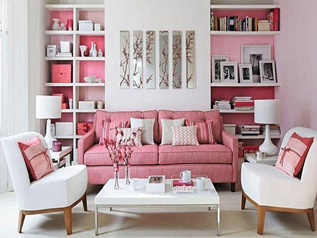 现代别墅设计 粉色与什么颜色的搭配好看