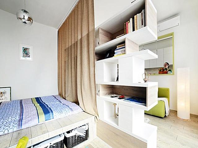 儿童房间设计 一个卧室改两间儿童房怎么做