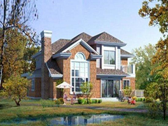 新农村房屋设计图片 农村二层小别墅装修多少钱