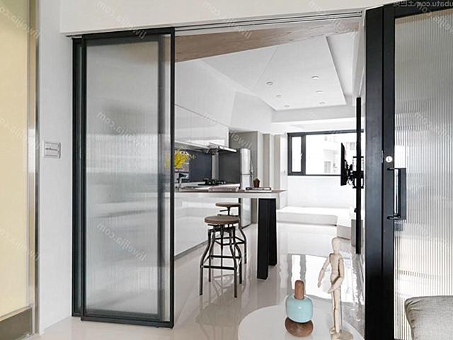 别墅家装设计 厨房隔断推拉门效果图大全