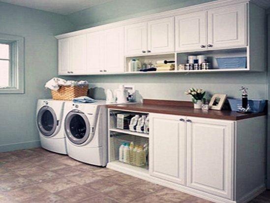 别墅设计别墅装修 2021洗衣房装修效果图欣赏