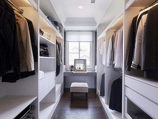 柜子设计图 装修衣帽间设计效果图2021图片