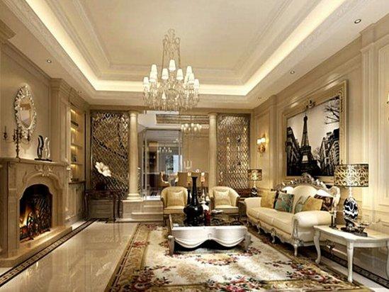 【浪漫卧室】别墅装修的成本主要分为几个部分