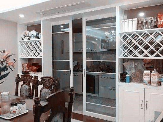 【吸油烟机什么牌子好】厨房与餐厅隔断柜样式