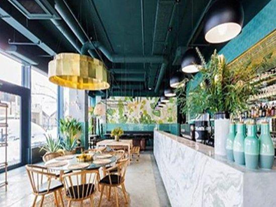 【电视墙隔断】主题餐厅设计装修方案实例