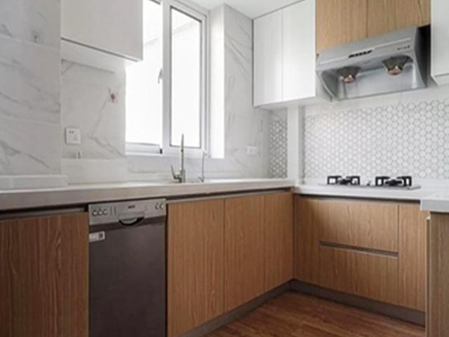 株洲三室两厅装修效果图 130平米原木风装修案例