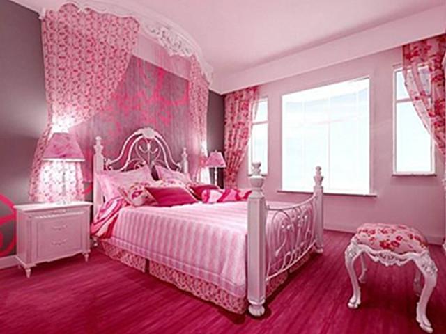 卧室装修效果图欣赏 7万打造90平感人二人世界