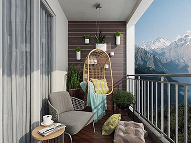 最新阳台设计效果图 春节过后装修的好处