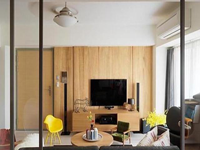 【镀铬漆】小户型木质电视墙如何设计好看