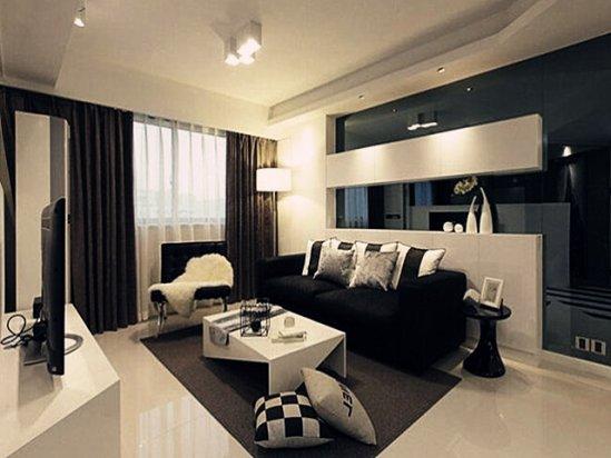 欧式别墅装修效果图 70平米室内装修效果图