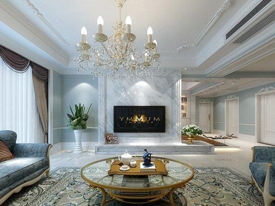 香港半山豪宅 家庭住宅室内装修设计效果图