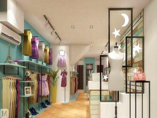 【古典装修风格】服装店面设计图片欣赏