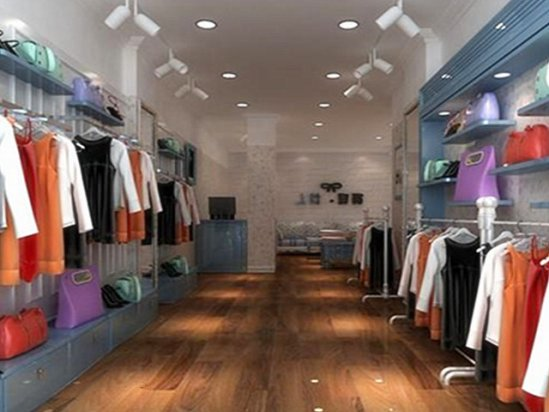 服装店面设计图女装 服装店面装修效果图