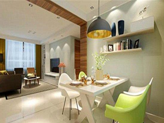 【新房家装】两室一厅装修图片小户型装修