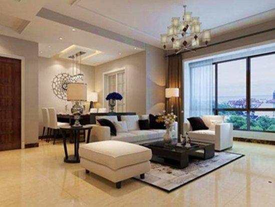 【买别墅】 三室两厅装修效果图大全2021图片