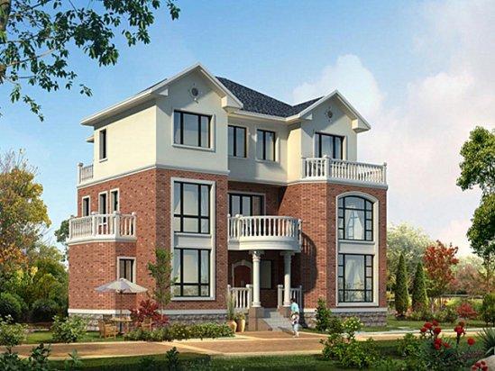 【天娇园】三层别墅装修设计图纸及效果图大全