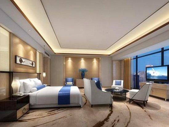 【凉亭】宾馆室内装修效果图大全2021图片